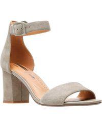 6cd9b743ee79 Lyst - Clarks Somerset Women s Smart Deva Dress Sandals in Brown