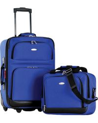 Olympia - Let's Travel! 2-piece Carry-on Luggage Set - Lyst