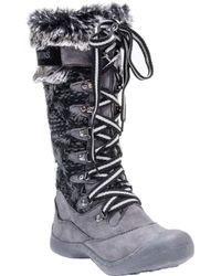 Muk Luks | Gwen Tall Lace Up Snow Boot | Lyst