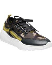 Cavo Camoflage Wedge Sneakers ED69nKBPoM