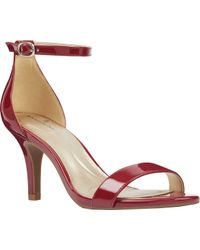 a2cfa9f5e960 Lyst - Bandolino Madia Dress Sandal in Red