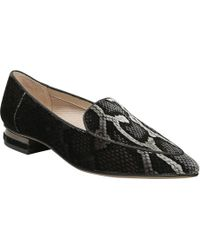 Franco Sarto - Starland 2 Snake Print Slip On Loafers - Lyst