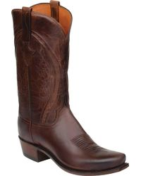 Lucchese Bootmaker - Clint 7 Toe Western Boot - Lyst