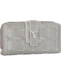Nino Bossi - Wendi Woven Leather Wallet - Lyst