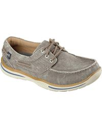 Skechers - Relaxed Fit Elected Horizon Boat Shoe - Lyst