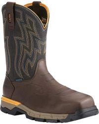 Ariat - Rebar Western H2o Composite Toe Work Boot - Lyst