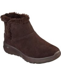 Skechers - On The Go Joy Bundle Up Ankle Boot - Lyst
