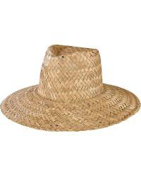 San Diego Hat Company - Seagrass Sun Brim Hat Sgf2015 - Lyst