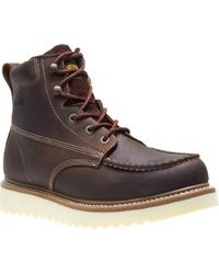 """Wolverine - Loader 6"""" Wedge Soft-toe Boot - Lyst"""