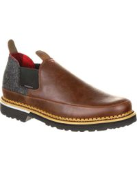 "Georgia Boot - Gb00209 4"" Giant Pendleton Romeo Shoe - Lyst"