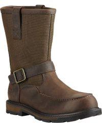 Ariat - Groundbreaker Moc Soft Toe H2o Work Boot - Lyst
