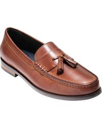 dc72f501a7c Lyst - Cole Haan Pinch Friday Tassel Contemporary Loafer in Black ...
