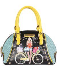 Nicole Lee - Spring Ride Print Mini Bowler Bag - Lyst