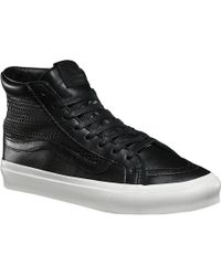 ede5b9386c Lyst - Vans Sk8-hi Slim Cutout High-top Rubber Skateboarding Shoe ...