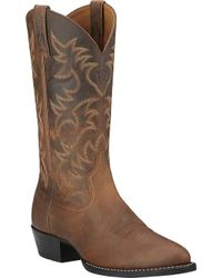 Ariat - Heritage Western R Toe - Lyst
