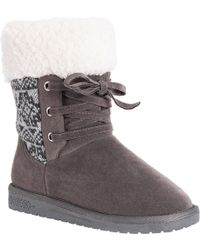 Muk Luks - Melba Sweater Boot - Lyst