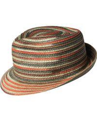 Kangol - Spacedyed Braid Trilby Hat - Lyst