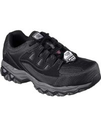 Skechers - Work Holdredge Steel Toe Sneaker - Lyst