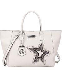 Nicole Lee - Brona Glitz Star Patch Shopper Bag - Lyst