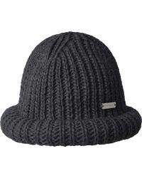 393cb1af6af07 Lyst - Kangol Rolled Beanie in Black for Men