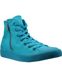 8d7362998 Lyst - Lacoste Women s Carnaby Evo Wedge High Top in Black