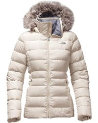 ca08529293 Lyst - The North Face Gotham Jacket Ii With Faux Fur Trim in Black