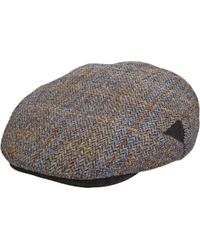 05a4715d Supreme Harris Tweed Camp Cap 'fw 18' in Black for Men - Save 29% - Lyst
