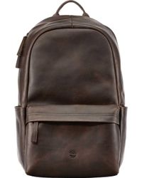 Timberland - Tuckerman Leather Backpack - - Lyst