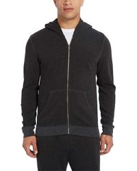 ATM - French Terry Zip Hoodie - Lyst