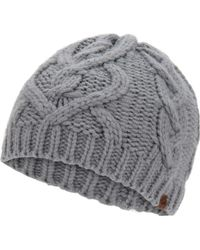 Keds - Large Cable Knit Beanie - Lyst