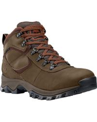 Timberland - Mt. Maddsen Mid Waterproof Hiking Boots - Lyst