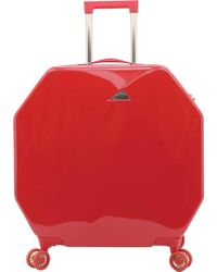 """Kensie - 24"""" Rolling Octagon Upright Spinner - Lyst"""