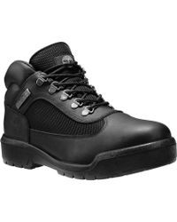Timberland - Field Boot Fabric And Leather Waterproof Boot - Lyst