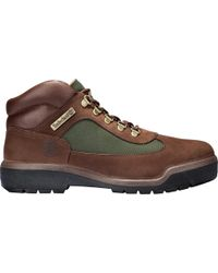 Timberland - Field Leather/fabric Waterproof Boot - Lyst