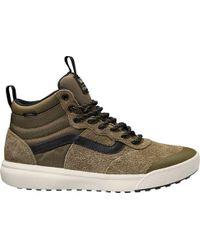 52f22548a7 Lyst - Vans Ultrarange Hi Mte Sneaker in Black for Men