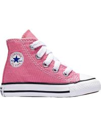 bf56cb0d57d6 Lyst - Converse Chuck Taylor All Star High Top Sneaker in Purple