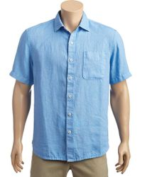 Tommy Bahama - Seaspray Breezer Short Sleeve Shirt - Lyst