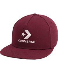 Converse - Star Chevron Lock Up Dart Front Cap - Lyst