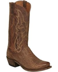 Lucchese Bootmaker - Carl R Toe Western Boot - Lyst