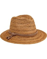 San Diego Hat Company - Fedora With Double Knot Braid Trim Pbf7312 - Lyst