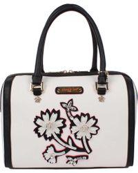 Nicole Lee - Daria Flower Embellished Boston Bag - Lyst