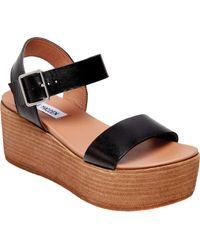 9d594099b6fa Lyst - Steve Madden Angels Platform Shoes in Black