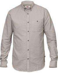 Fjallraven - Ovik Foxford Long Sleeve Shirt - Lyst