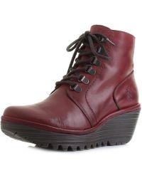 Fly London - Yarn Wedge Boots - Lyst