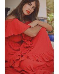 Rhode Resort - Salma Dress Cherry - Lyst