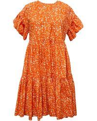 Ulla Johnson - Rosemarie Dress Coral Batik - Lyst