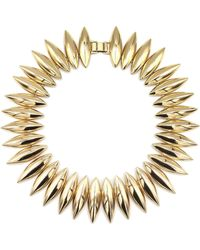 Tuleste - Talon Necklace Gold - Lyst
