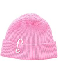 Tibi - Candy Pink Cashmere Wool Beanie - Lyst