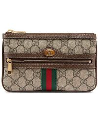 Gucci - Small Ophidia Supreme Pouch Clutch Bag - Lyst