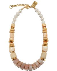 Lizzie Fortunato - Multicolor Pink Sands Necklace - Lyst